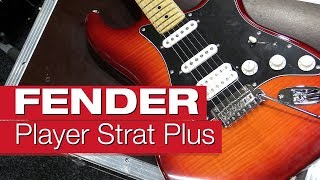 Fender Player Stratocaster HSS Plus Top MN ACB E-Gitarren-Review von session