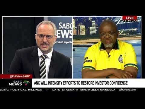 Gwede Mantashe on the ANC Manifesto launch