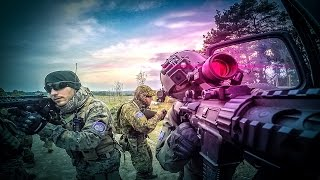 AIRSOFT: Gameplay Deutsch CQB - Scope Cam - Urban Area Asgard Polen 1