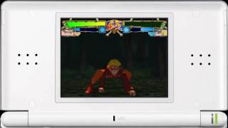 Naruto Shippuden Ninja Destiny 2 Nintendo DS video game Jutsu video 6