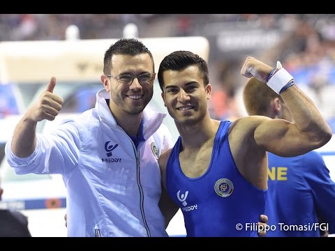 Cluj Napoca - Finale All Around maschile - Lorenzo Galli (Intervista)