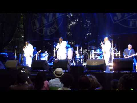 The O'Jays performing