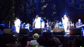 The O'Jays performing Lovin You at the Capital Jazz Fest