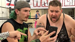 A match verse CZW star? I need to find a way out