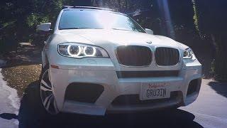 Тест-драйв Грузина BMW X5M E70, гонки с X5M F85 по реке