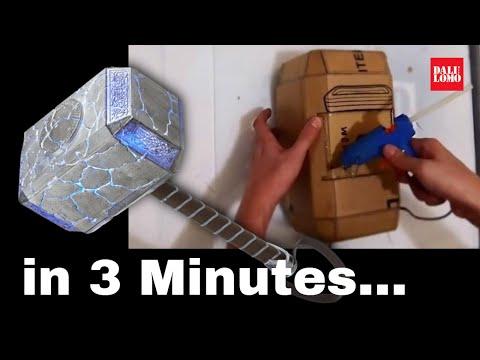Timelapse - Thors Hammer Mjölnir