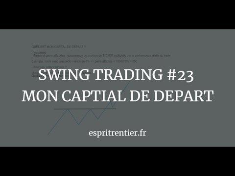 SWING TRADING #23 MON CAPITAL DE DEPART 1