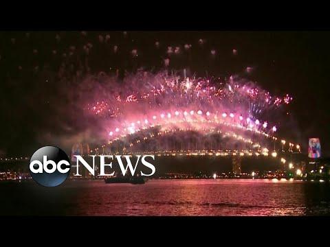 New Year's Eve celebration kicks off in Australia