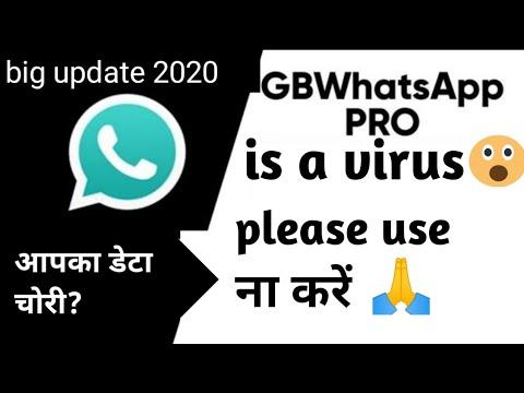 Gb Whatsapp Is A Virus Data Is Safe Or Not Kya Hme Gb Whatsapp Use Krna H Ya Nhi Youtube
