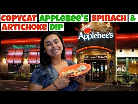 Copycat Applebee's Spinach & Artichoke Dip