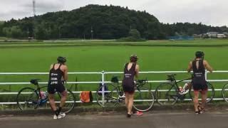 Triathlon Lumina 9月号 田山寛豪選手&流通経済大トライアスロン部のデュアスロン練習(トランジション)