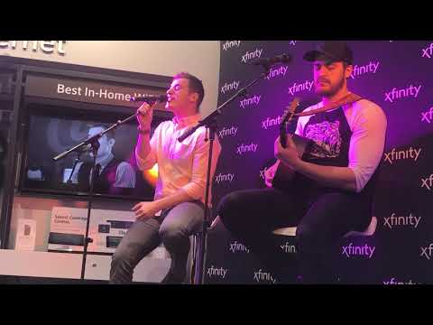 Chris Jamison performs 'Guilty' at Pittsburgh Xfinity Store