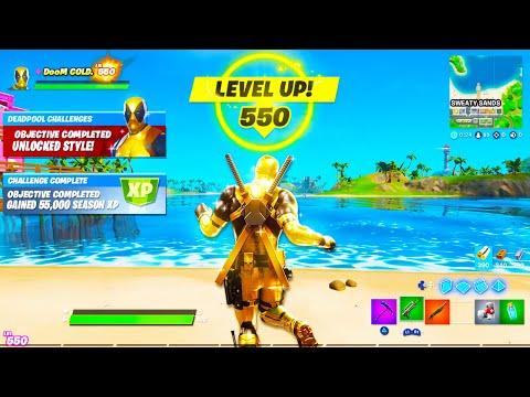 I Hit Level 550 In Fortnite.. This HAPPENED!
