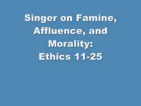 famine affluence and morality 3 essay Philosophy and public affairs, vol 1, no 3 3c229%3afaam%3e20co%3b2-3 philosophy and public affairs is currently famine, affluence, and morality.