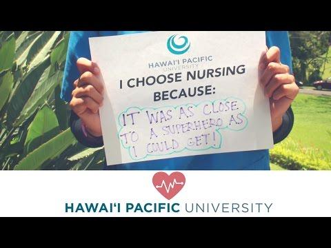 I Choose Nursing Because...