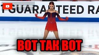 Ну Ведь ЗДОРОВО Александра Трусова Короткая Программа Skate America 2021