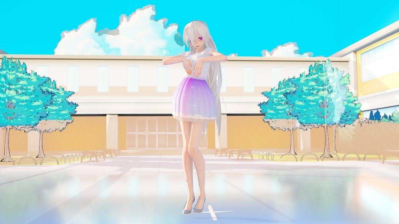 Mmd 4k 18040 Tda Daily Skirt Haku Aoa Miniskirt X2ver Dlray