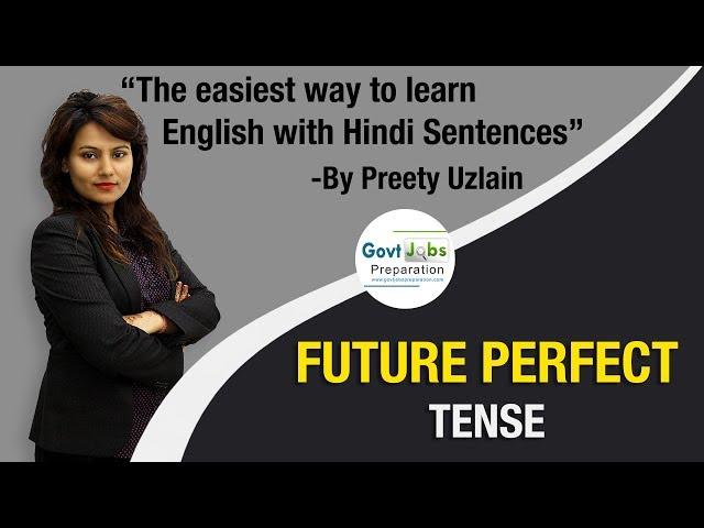 Future Perfect Tense   Positive Sentences   Learn English With Preety Uzlain