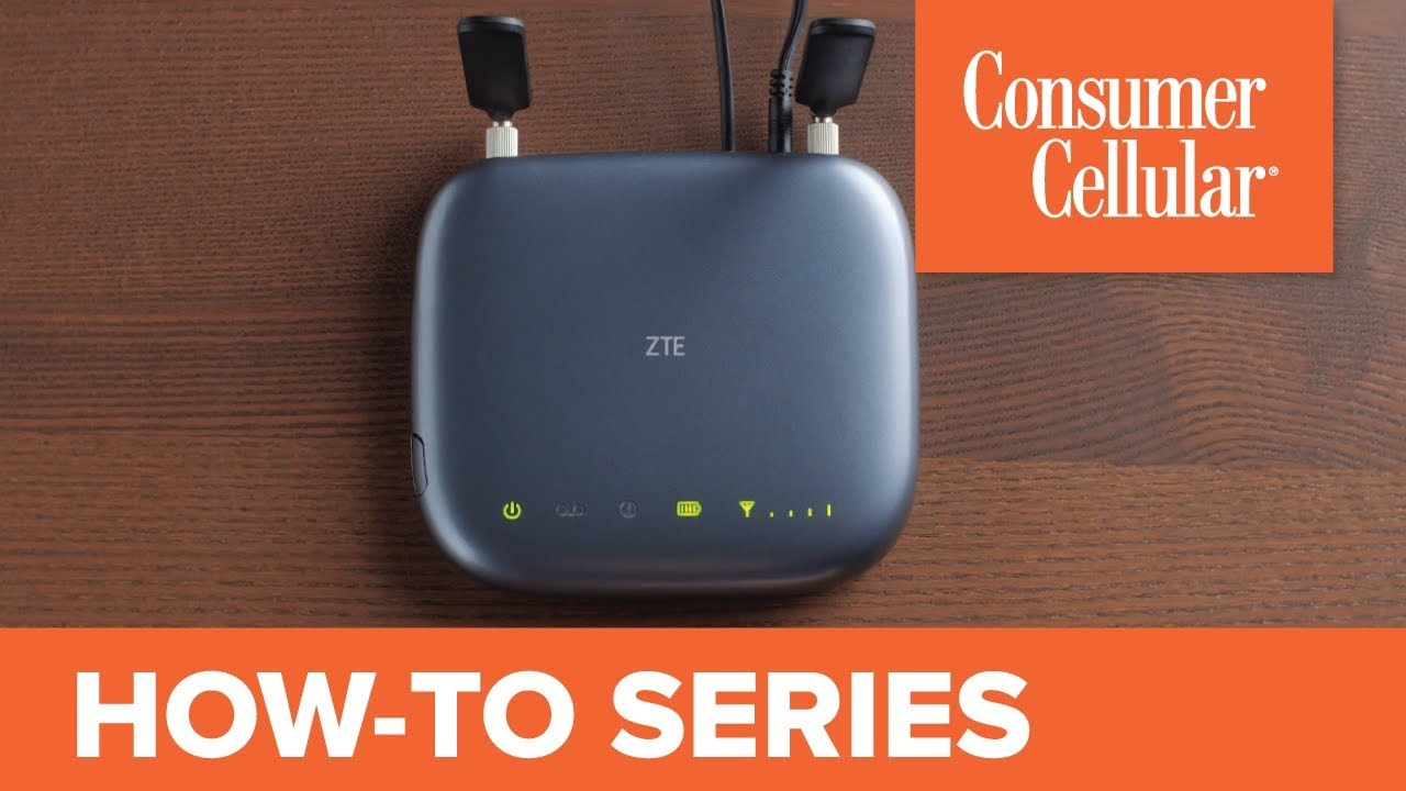 ZTE Wireless Home Phone Base: Overview and Tour (2 of 2) | Consumer Cellular