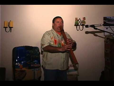 Blue Hawaiian Moonlight on Native American flute