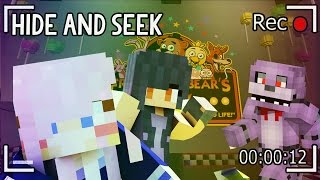 Five Nights at Freddys | FNAF Minecraft Hide and Seek
