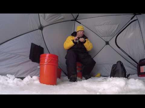 Jumbo Perch Progressions on the Ice