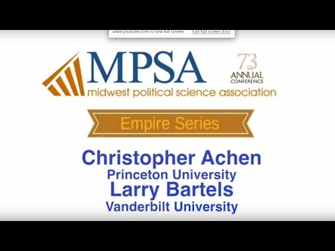 MPSA Empire Lecture Series: Democracy for Realists