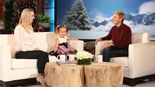 After Ellen saw Brielle's video on ellentube, she invited her to showcase her science smarts on the show!
