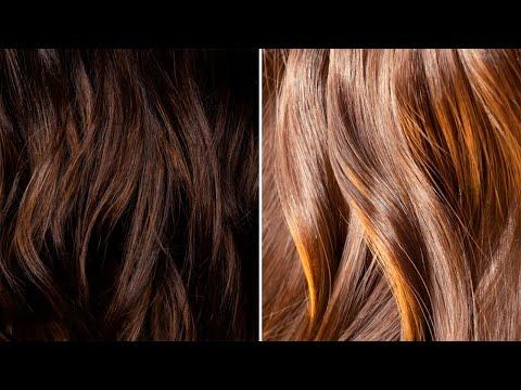 formas de aclarar el cabello naturalmente