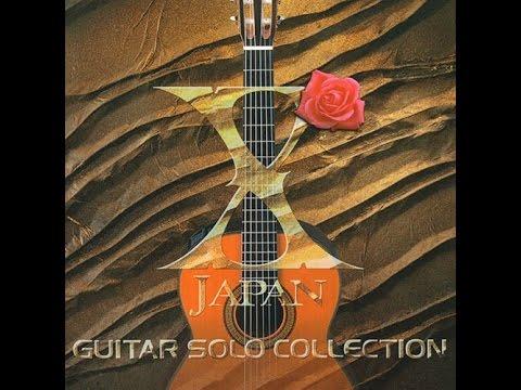 X japan guitar collection