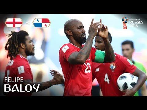 Felipe BALOY Goal -  England v Panama - MATCH 30