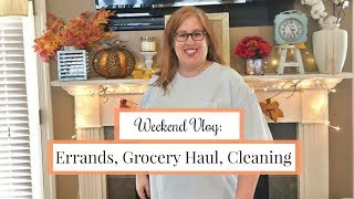 Chit Chat Errands | Grocery Haul | Weekend Cleaning