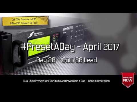 FREE AXE FX II & AX8 Presets - Solo 88 Lead (Day 28 April 2017)