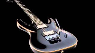 Melodious hard rock backing track in C♯m