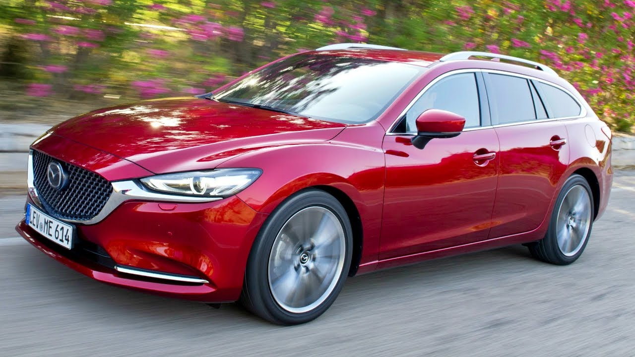 2018 Mazda6 Wagon Design And Premium Performance