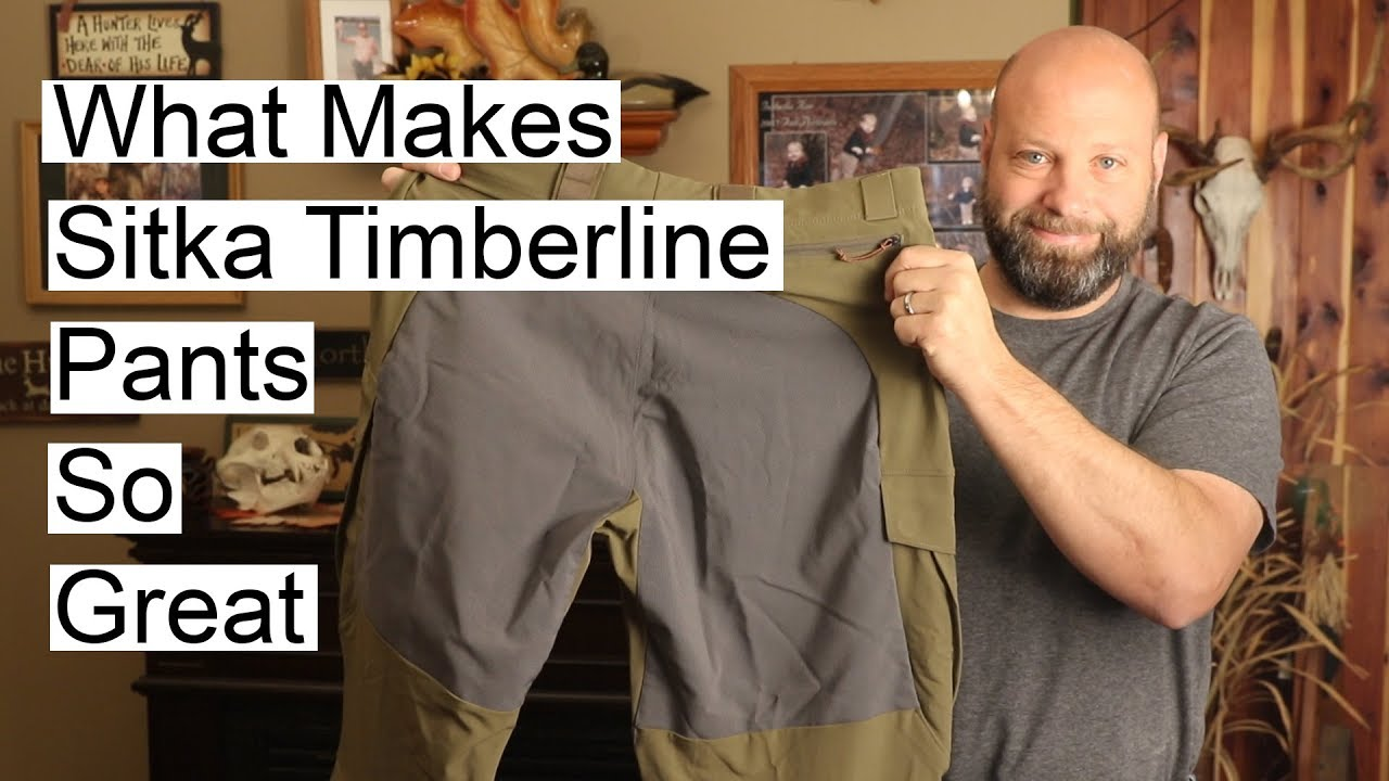 5448a87e9e680 What Makes Sitka Timberline Pants So Great - YouTube