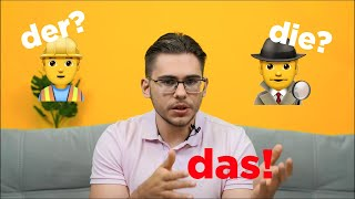 урок немецкого языка #9. Определение рода имени существительного в немецком