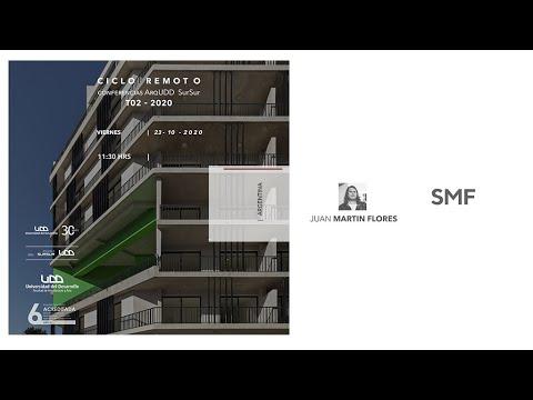 Conferencia SurSur: Juan Martin Flores para Arquitectura UDD SurSur, Concepcion.