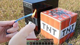 LAS MEJORES TRAMPAS DE TNT!! - MINECRAFT TROLL