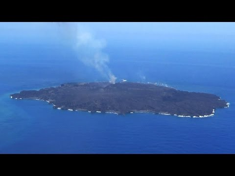 How are volcanic islands formed?