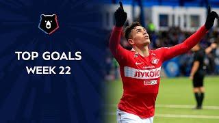 Top Goals RPL Week 22