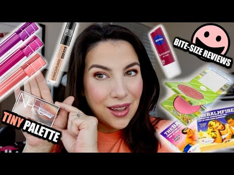 BITE-SIZE REVIEWS: 5 NEW Products in 10 Minutes thumbnail