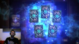 Hearthstone opening 200 Witchwood packs