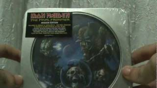 Unboxing / Overview: Iron Maiden - The Final Frontier (Mission Edition - Made in Brazil)