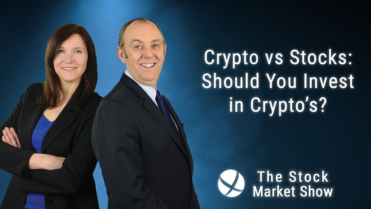 should i invest in cryptocurrency or stock market