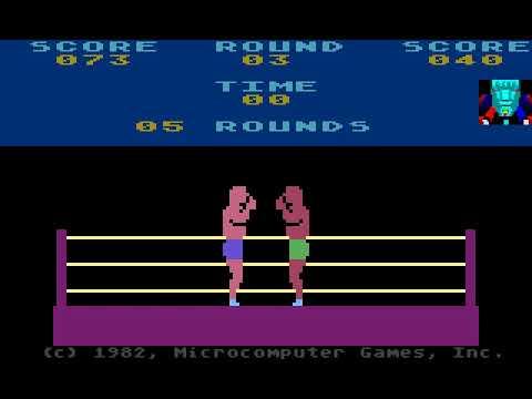 Atari 800 Game: Knockout (1982 Microcomputer Games Inc.)