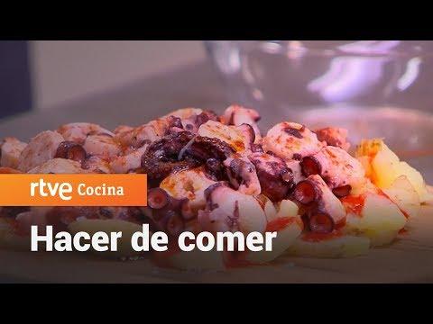 Cómo hacer Pulpo a la gallega - Hacer de comer | RTVE Cocina