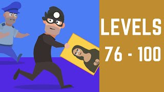 Master Thief Game Walkthrough Level 76-100