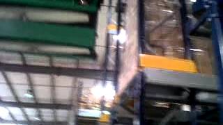 Godrej Shuttle racking system changing the shuttle positions
