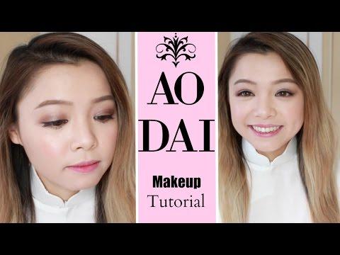 Buôn Dưa Trang Điểm Áo Dài ♡ Chụp Ảnh Kỉ Yếu ♡ Talk Through Ao Dai Makeup Tutorial ♡ TrinhPham